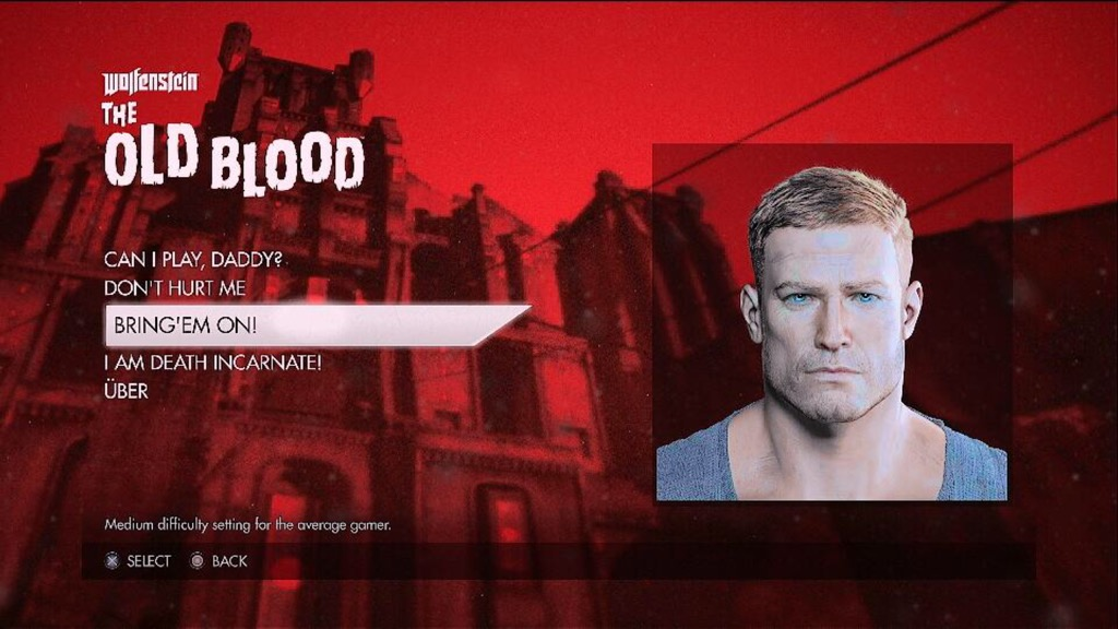 Wolfenstein Old Blood3